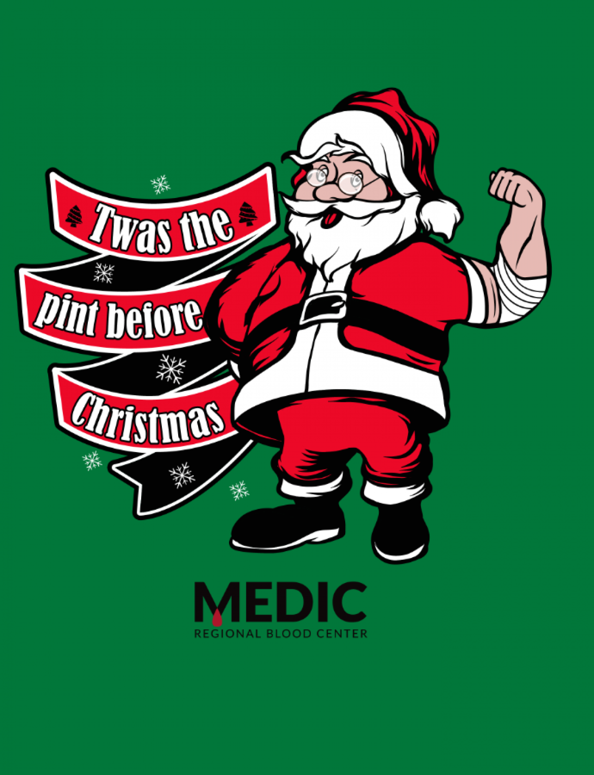 medic regional blood center is excited to host twas the the pint before christmas along with ober gatlinburg and hot 1045 to provide a special treat to